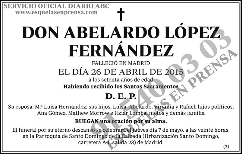 Abelardo López Fernández